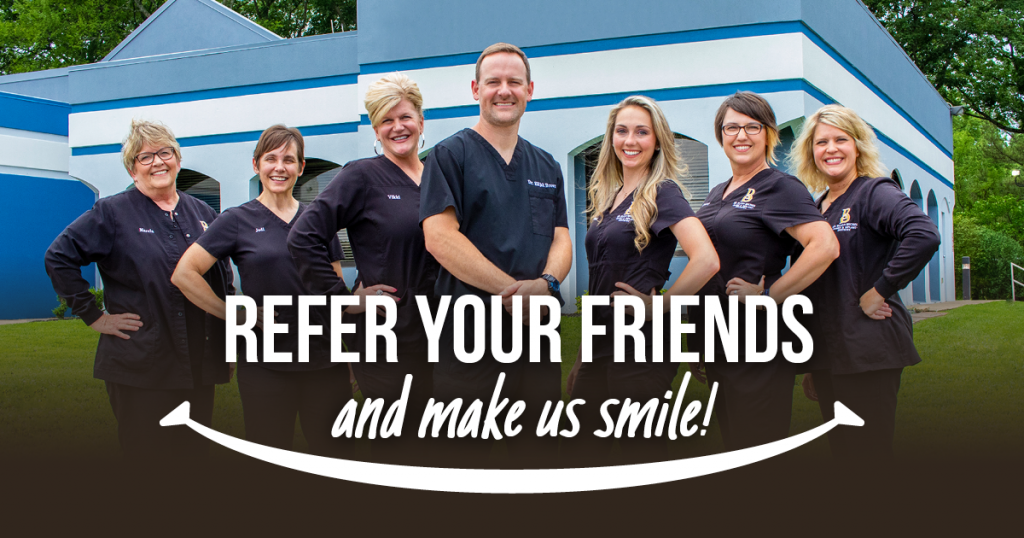 Refer your friends and make us smile! - Team photo