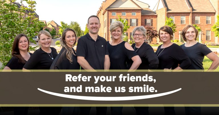Refer your friends, and make us smile.
